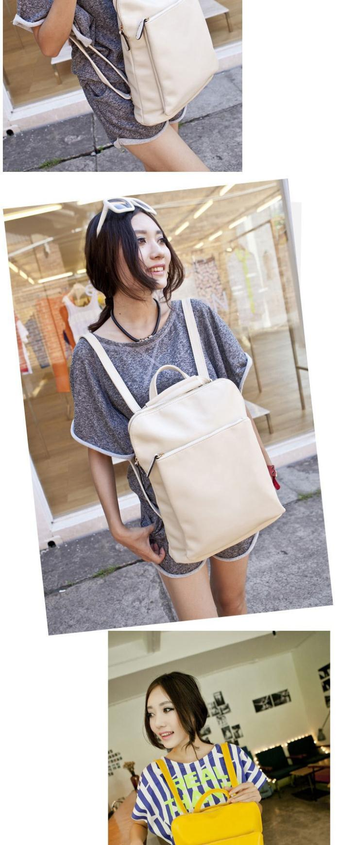 Women Backbags Women Japan And Korean Style Bags PU Leather New