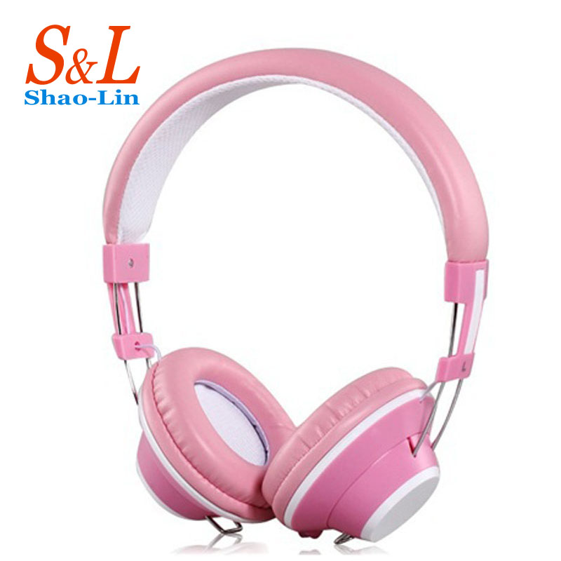 Headphones Earphone Headset Stereo Wired Head Phone with Microphone for MP3 Game Computer PC Mobile(China (Mainland))