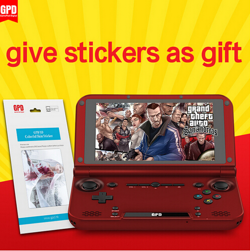 GPD XD RK3288 Quad Core 2G/64G 5' IPS Handheld Game Console Video Game Play PS game tablet handheld video game Android Gamepad(China (Mainland))