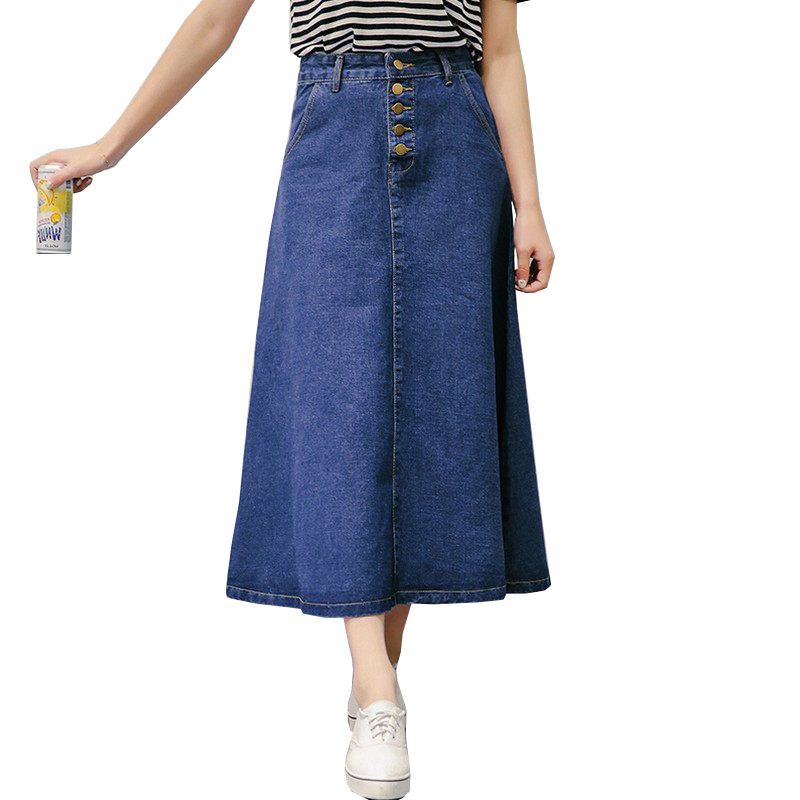 Compare Prices on Denim Maxi Skirt Plus Size- Online Shopping/Buy ...