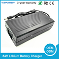 Built in Fan 84V 2A Lithium Battery Charger Universal for 20 cell 20X3 6V 20X3 7V