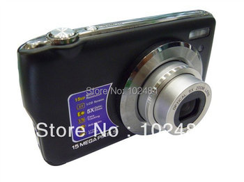 new arrival 2.7' tft lcd 15 mp max digital camera with 5x optical zoom dc570 drop shipping