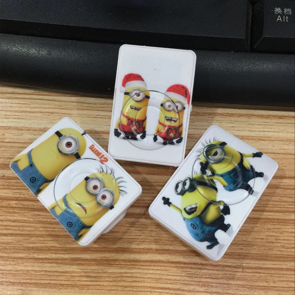 Wholesale Quality Vr2 Despicable Me Minions MP3 Music Player with TF Card Slot for leisure (no accessories)<br><br>Aliexpress