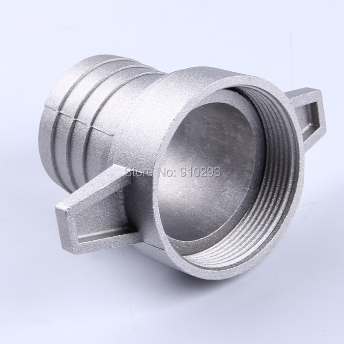 Gasoline water pumps fittings. 2 - Inch aluminum pipe connecting wrench with rubber gasket.pump connector(China (Mainland))