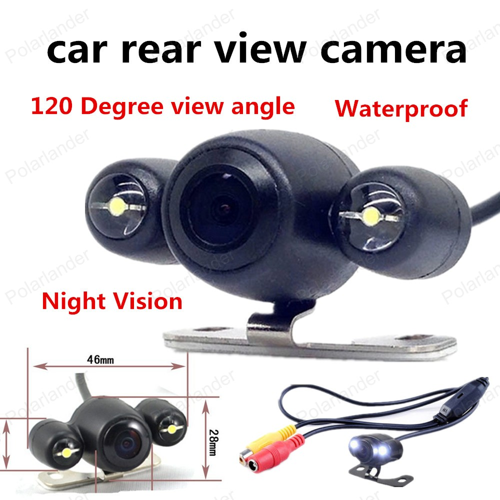 best selling Night Vision Wireless Reverse camera CCD Car Rear View Backup Camera 120 Degree view angle Waterproof(China (Mainland))
