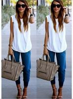 2015 New summer style blouse Fashion Regular O-Neck women blouse