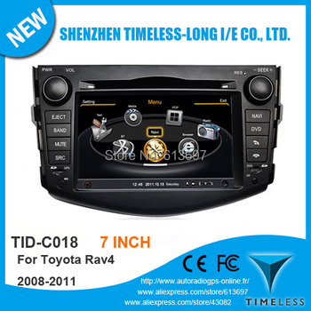 S100 Car DVD GPS For TOYOTA RAV4 2008-2012 With A8 Chipset Dual Core 3 Zone POP 3G Wifi BT Radio 20 Dics Playing USB SD Free Map