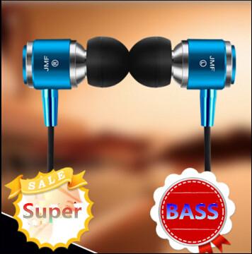 100% Original JMF 3.5mm In-Ear phone Earphone & Headphones bass Headset For Xiaomi IPhone 5 5S 4 Samsung MP3 MP4 Free Shipping(China (Mainland))
