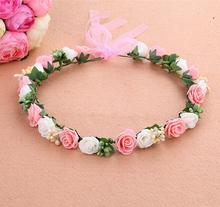 Flower crown tiaras head band