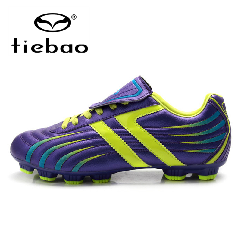 TIEBAO Professional outdoor Football Boots Men Women HG & AG Sole Soccer Cleats Athletic Training Soccer Shoes botas de futbol(China (Mainland))