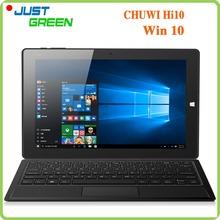 Original 10.1″ 1920×1200 Chuwi Hi10 Win10 Tablet PC In tel Cherry Trail Z8300 Quad Core  4GB RAM 64GB ROM 2MP HDMI OTG USB 3.0