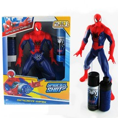 Action Figure Amazing Spiderman bjd doll Model Brinquedos Spidey Shot 2 IN 1 web fluid water shooter juguetes kids Shooting toys