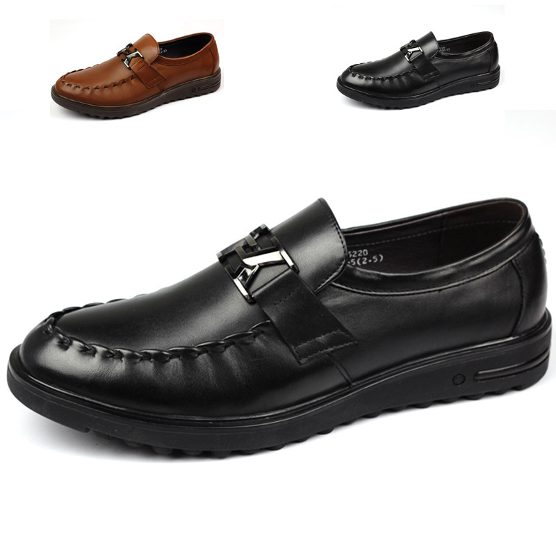 guangzhou high end s shoes manufacturer leather mens