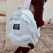 2016 Fashion Women Backpacks Denim School Bags For Teenagers Girls Shoulder Bag Travel Sports Bagpack Bolsas Mochilas Femininas(China (Mainland))