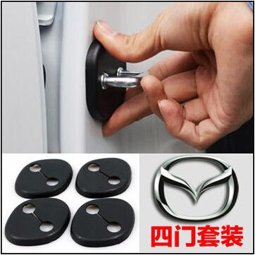 2014 Mazda Axela Mazda Atenza NEW mazda 3 mazda 6 2014 modified door lock button cover protection cover lock protective cover(China (Mainland))