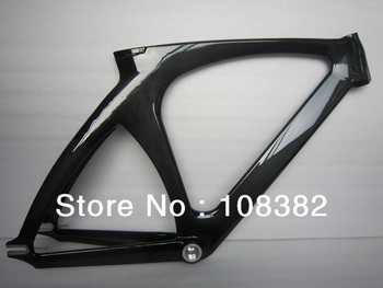 carbon fiber track frame with top tube 51.5cm,53.5cm and 56cm