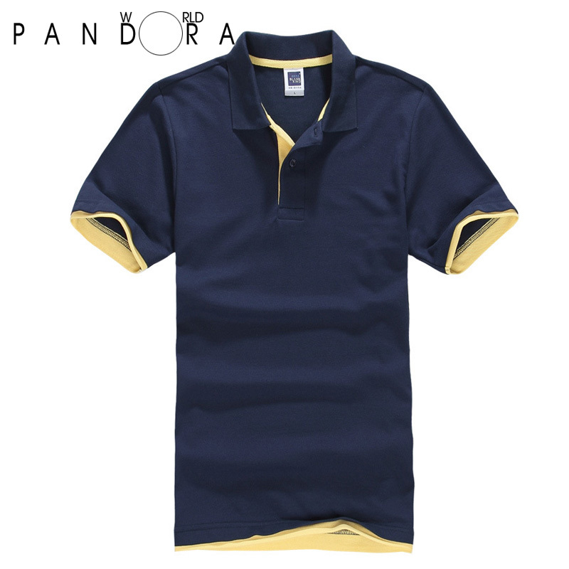 free shipping good quality solid short sleeve polo shirt
