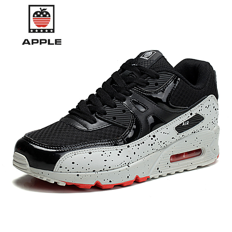 APPLE Mens Sports Shoes Running Shoes For Men Women Sports female Air 90 Woman Running Sneakers White Shox Krasovki 35-46 Size(China (Mainland))