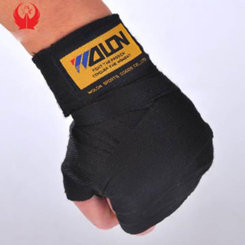 2pcs/roll Width 5cm Length 2.5M Cotton Sports Strap Boxing Bandage Sanda Muay Thai MMA Taekwondo Hand Gloves Wraps(China (Mainland))