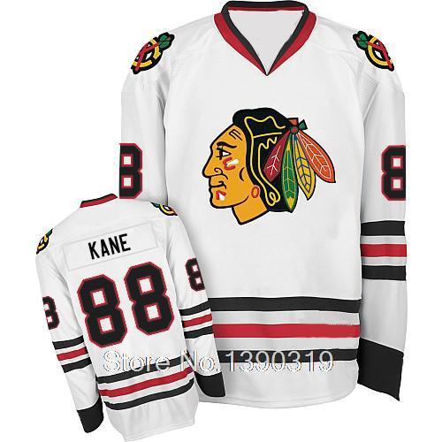 Cheap Chicago Blackhawks #88 Patrick Kane Youth White Away Jersey Original Stitched Hockey Jerseys - You Like store