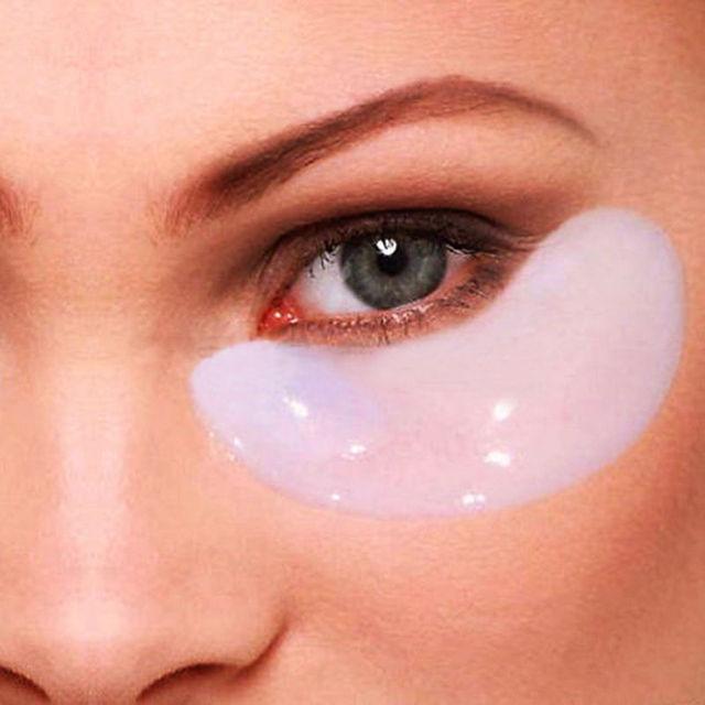 Горячая мода высокое качество многофункциональный коллаген кристалл маска для глаз век патч против круги красоты