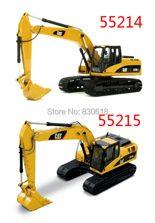 1:50 DieCast Toy Norscot Caterpillar cat 323D L Hydraulic Excavator 55215 & Cat 320D L Hydraulic Excavators 55214 (two-piece)(China (Mainland))