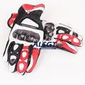 Hot Sale Knight Moto Racing Genuine Leather Gloves Driving Motorcycle Gloves Off road Sports Carbon fiber