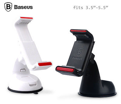 hot sale Original Baseus Super series 360 Car Windshield Gooseneck Mount Holder for cell phone GPS iphone 5 6 PDA galaxy #CX(China (Mainland))