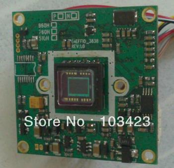 680TVL  effio-e,(673 CCD),  SONY Color CCD Camera Board, PCB Board Camera, Free Shipping