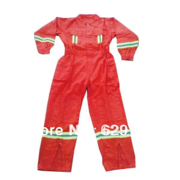 Fire rescue suit with orange color <br><br>Aliexpress