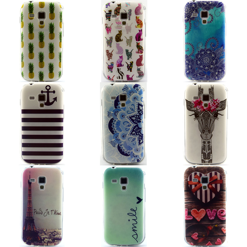 Cover For Samsung Galaxy S Duos S7562 Trend Plus S7580 Duos2 S7582 7652 7580 7582 Case Soft TPU Silicon Ultrathin Cell phone Cas(China (Mainland))