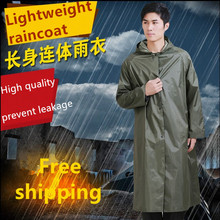 New waterproof raincoat Unisex Adults Raincoat Poncho Hood Travel Trip Camping Hiking Must  Use Rain Coat Free shipping(China (Mainland))