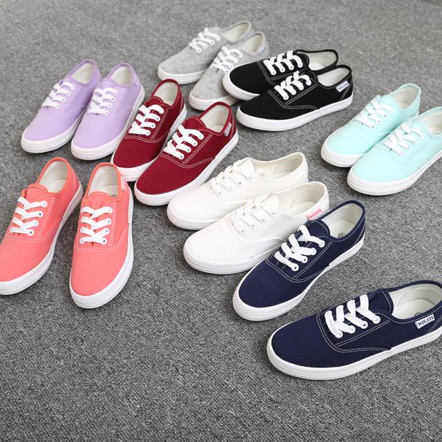 Бесплатная доставка женщин холст обувь , босоножки , свободного покроя обувь на плоской ...