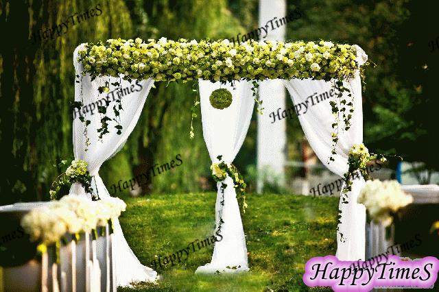 3*3*3M Wedding Decoration Outdoor White Square Ice Slik Fabric Canopy Curtain,Wedding Favors Backdrop(China (Mainland))