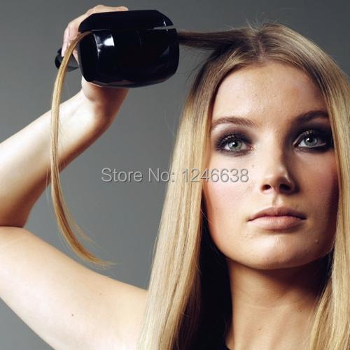 free shipping long hair boucleur with EU Plug(China (Mainland))