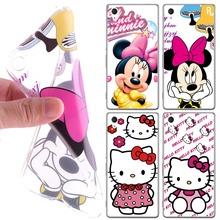 Buy Phone Cases Sony Xperia M4 Aqua Case Minnie Kitty Painting Soft Cover Sony Xperia M4 Aqua Case E2333 E2353 for $1.39 in AliExpress store