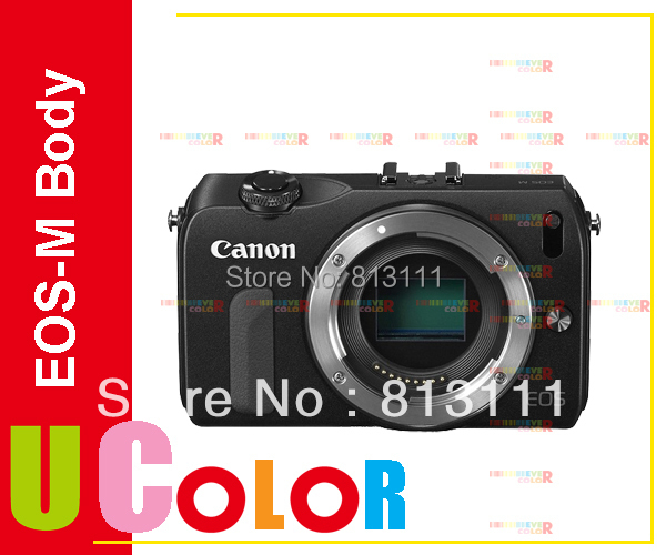 NEW Canon EOS-M Mirrorless Digital Camera (Body) - Black(Hong Kong)