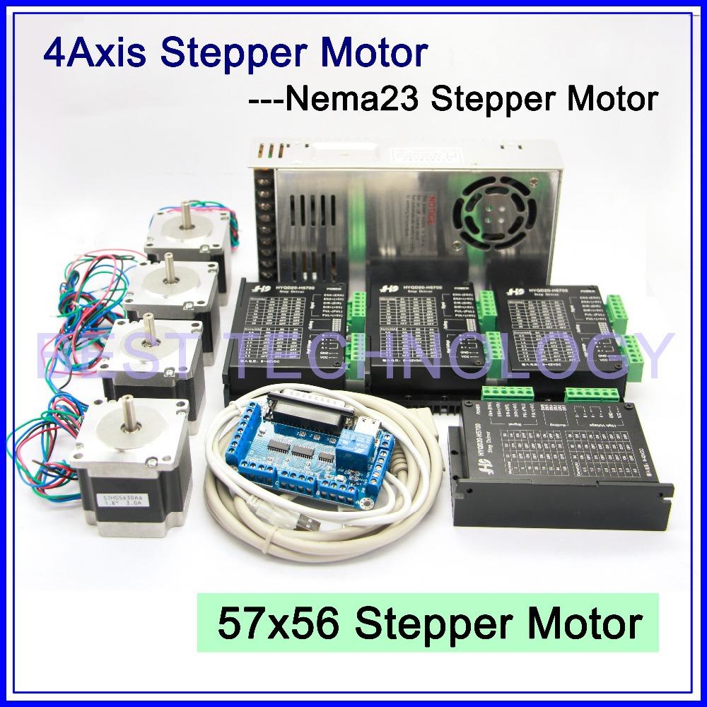 Buy 4axis cnc stepper motor kit 4pcs for Stepper motor buy online