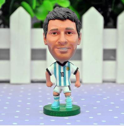 Football Celebrity Doll Soccer Star World Cup Souvenirs Soccer Barca Lionel Messi Toy Doll Figure Best Gift(China (Mainland))