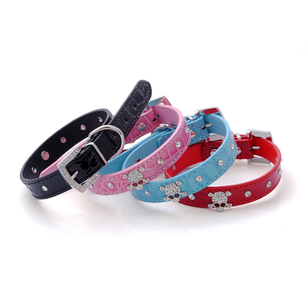 Diamante Dog Collars And Leads