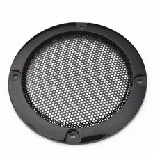 "3"" Inch Black Circle Speaker Decorative Circle with Protective Grille DIY(China (Mainland))"