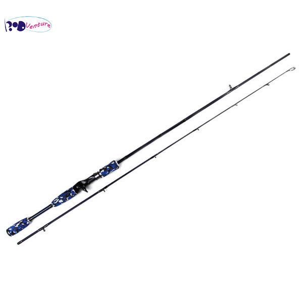Venture ilure mc bass loomis 662ml lure 4 12g for Camo fishing pole