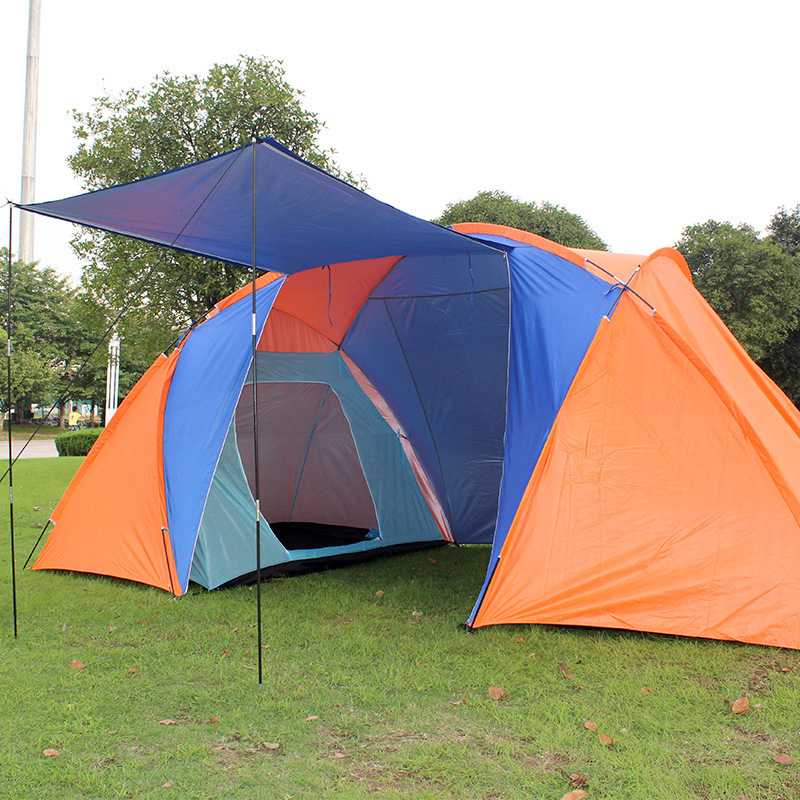 tents travel large family camping tent 2 bedroom in tents from sports