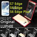 Luxury Original LUPHIE For Samsung Galaxy S7 Edge S6 Edge S6 Edge Plus Alloy Metal Aluminum