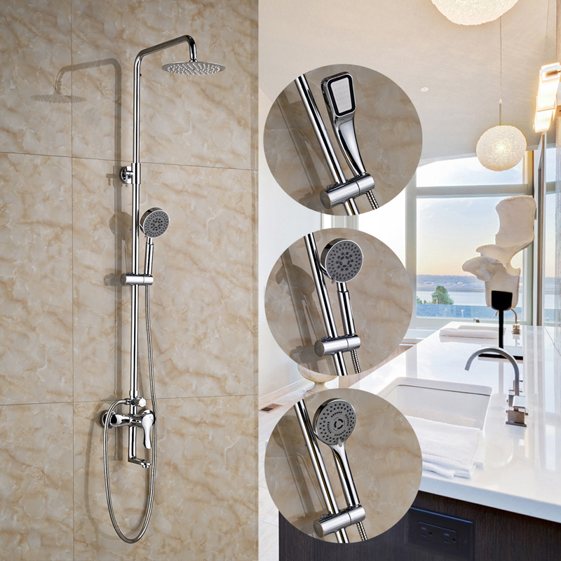 Wall Mounted Shower Faucet 8