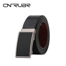Buy CNRUBR Mens Luxury Belts Cowhide Leather Belts Automatic Buckle Pants Waistband Straps Male Business Belts for $17.99 in AliExpress store