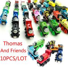 Новые Детские Деревянные Игрушки Магнитный Томас И Друзья Деревянный Модель Поезда Случайных Цветов(China (Mainland))