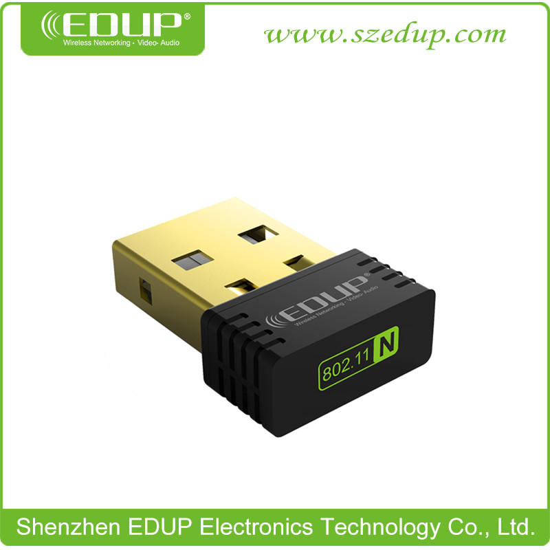 Hot Model EDUP 802.11N 150Mbps Wireless USB WiFi Adapter Wireless LAN Adapter WiFi Dongle for PC(China (Mainland))