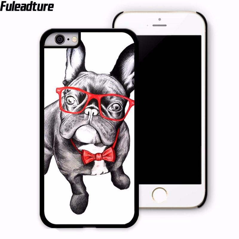 Plastic Hard Case Funda Pug Dog Coque de Mobile phone Accessories Cover For lg g5 k7 k10 for xiaomi mi4 mi5 4i 4c redmi note 2 3