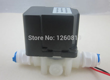 """24V 1/4"""" Waster Auto Flush Water Solenoid Valve with restrictor for RO Reverse Osmosis system(China (Mainland))"""